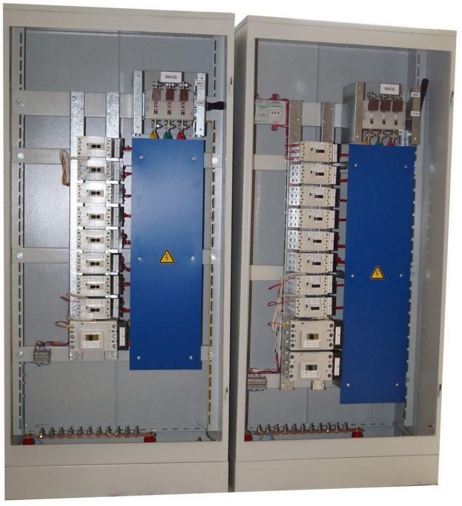 Шкаф вводно-распределительный схема